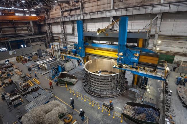 АО «ТЯЖМАШ» выполняет заказ для Иркутской ГЭС