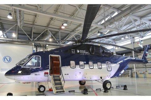Холдинг «Вертолеты России» передал АО «Русские Вертолетные Системы» первый серийный гражданский Ми-38